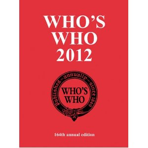 Whoswho2012