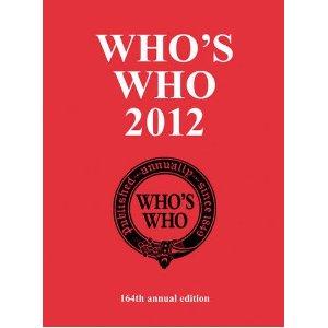 Whoswho2012