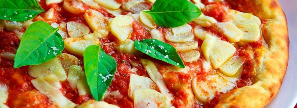 Les différents types de pizza